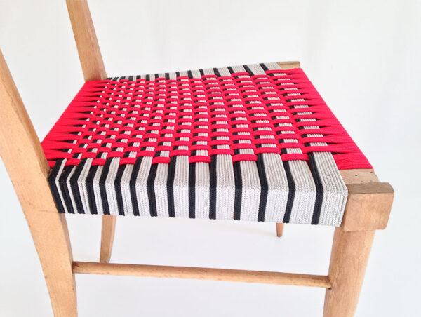 50s / Seduta in faggio nudo
