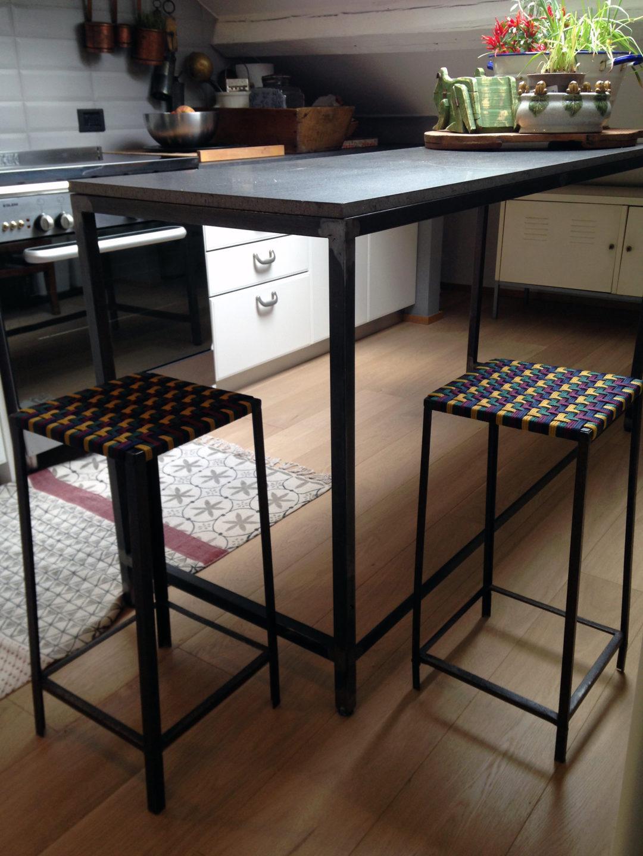 Industrial vintage stools