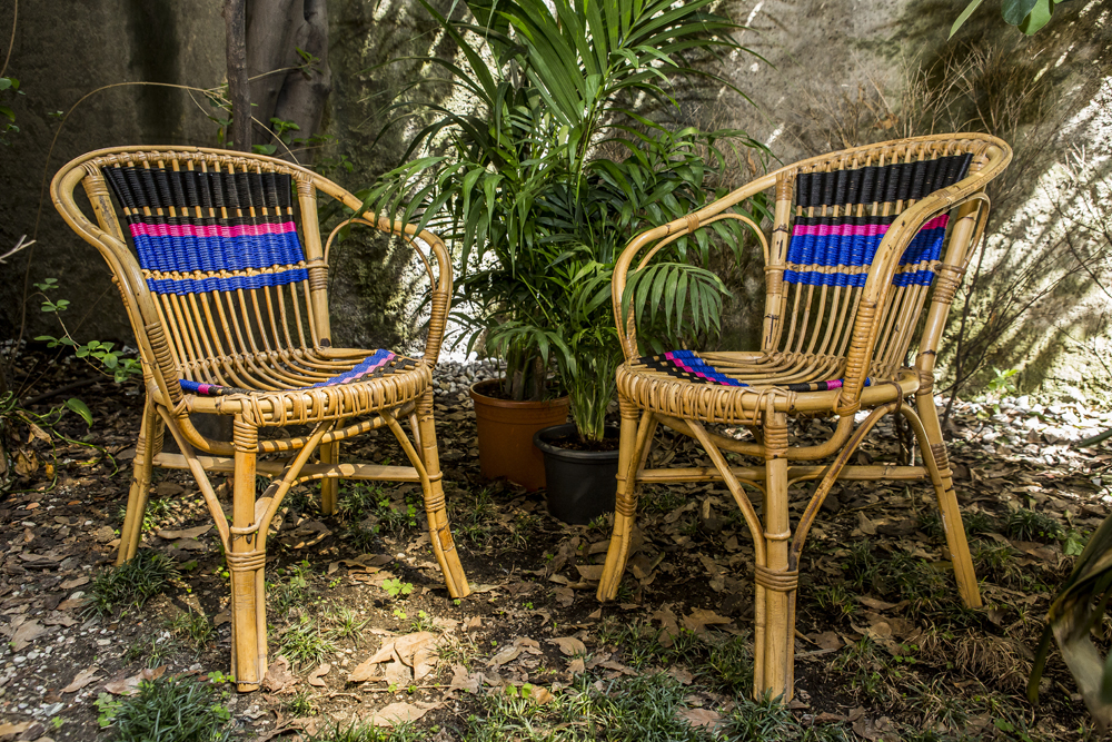 Chairs in the jungle
